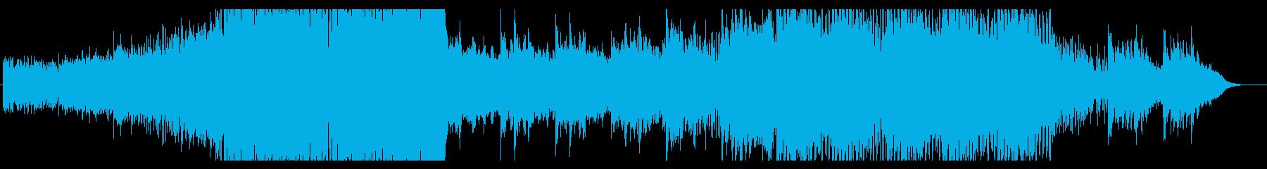 【EDM】ダンスとピアノが融合したEDMの再生済みの波形