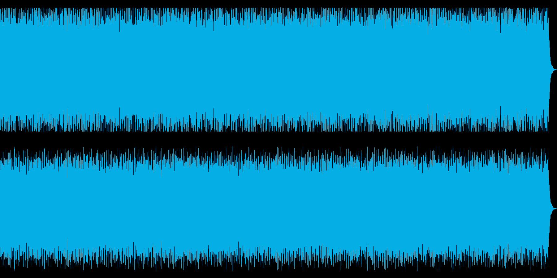 ウキウキの新春のBGMの再生済みの波形
