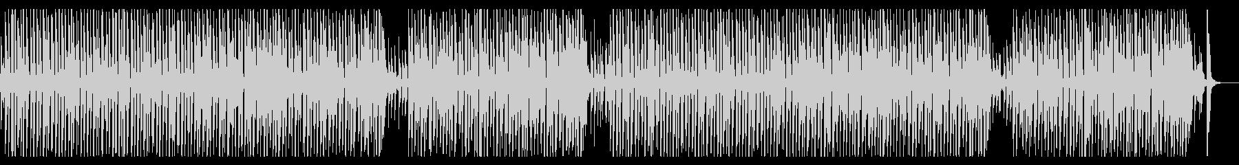 カフェBGM・おしゃれなフレンチジャズの未再生の波形