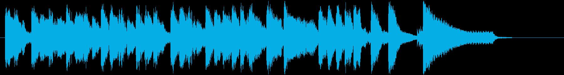奇妙&コミカルなサウンド♪の再生済みの波形