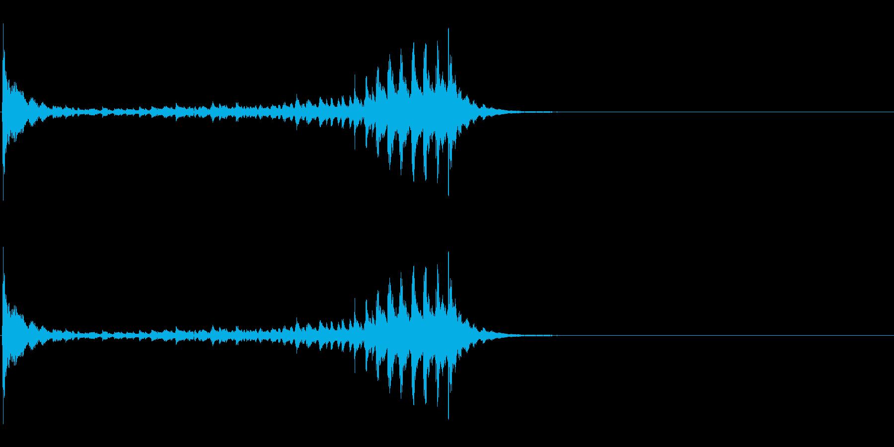 生演奏 琵琶 和風 古典風#13の再生済みの波形