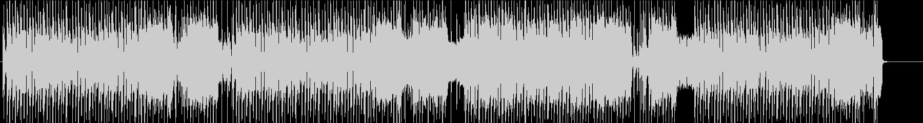 ノリノリなギターロックの未再生の波形