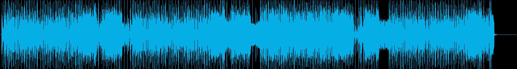 ノリノリなギターロックの再生済みの波形