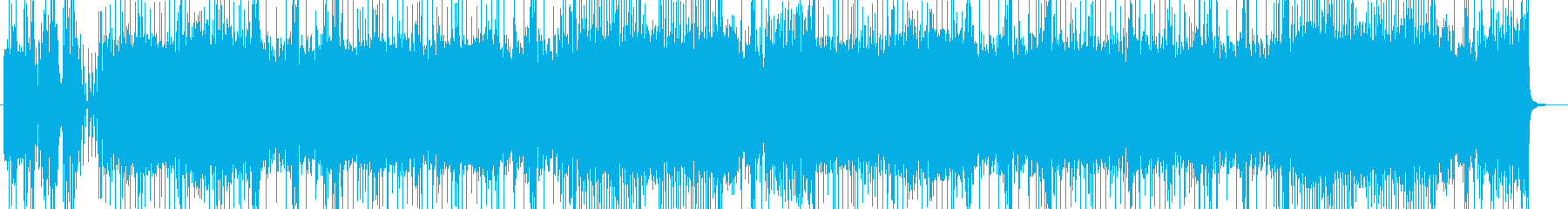 「HR/HM」「激しい」BGM43の再生済みの波形
