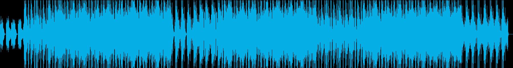 シンセ、強力なベース、オーガニック...の再生済みの波形