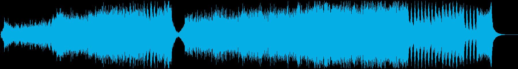 ヒロイックなアクションオーケストラの再生済みの波形