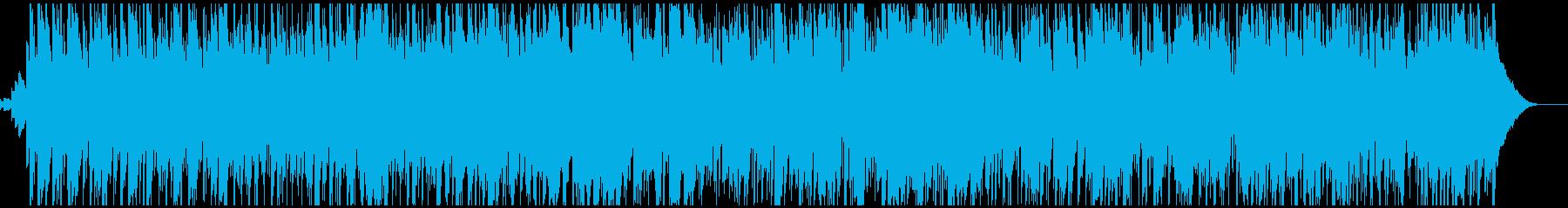 クリスマス定番曲・ジングルベル・ボサノバの再生済みの波形