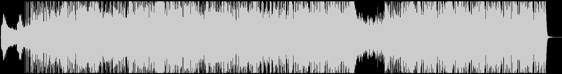 ダークなトラップ・ヒップホップの未再生の波形