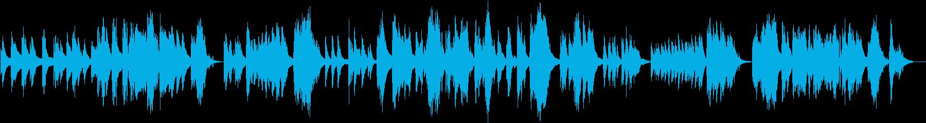ピアノソロ、ジャズバラード調の再生済みの波形