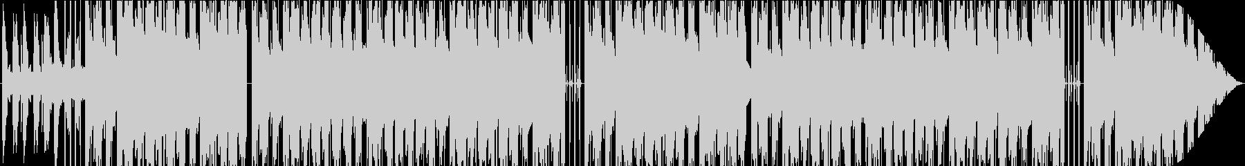 Lofi 柔らかい音色のピアノビートの未再生の波形
