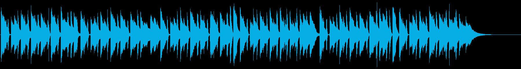 胸がきゅっと苦しくなる生ギターバラードxの再生済みの波形