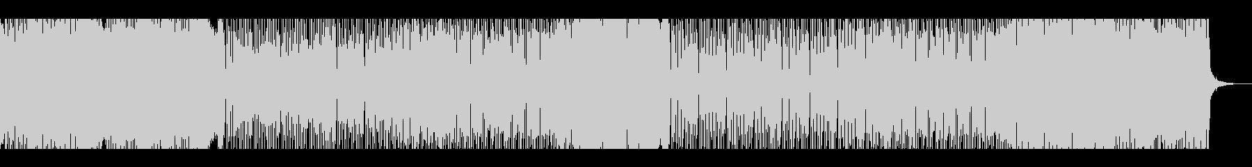 カラッと元気なハードロックの未再生の波形