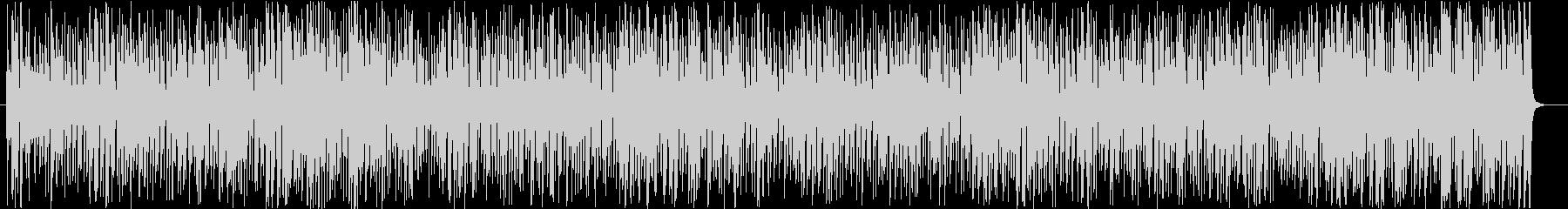 コミカルなチェイスシーンのジプシージャズの未再生の波形
