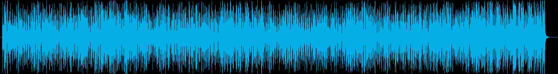 コミカルなチェイスシーンのジプシージャズの再生済みの波形