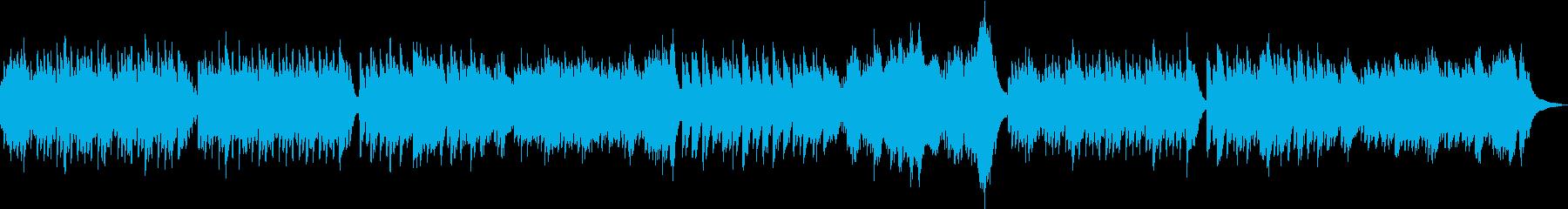 優しく眠りに誘うオルゴールサウンドの再生済みの波形