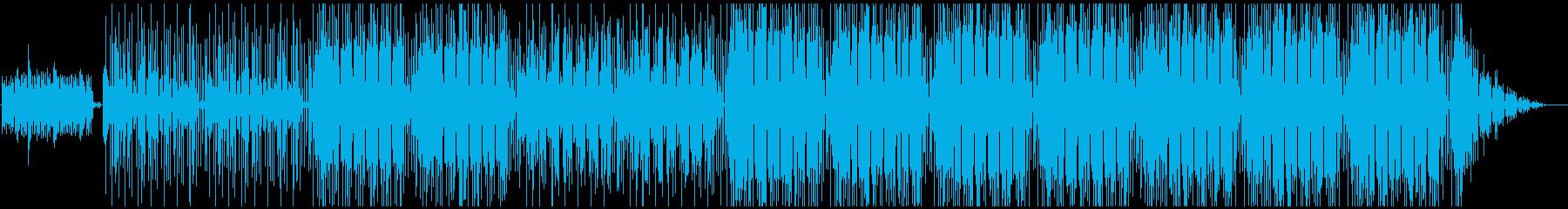 可愛いくて幻想的なlofiっぽい曲の再生済みの波形