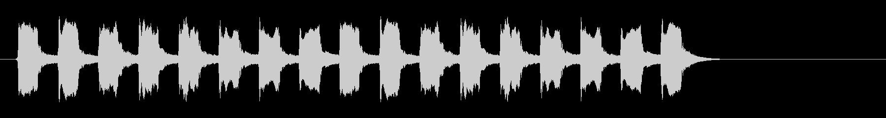 グラインダーの未再生の波形