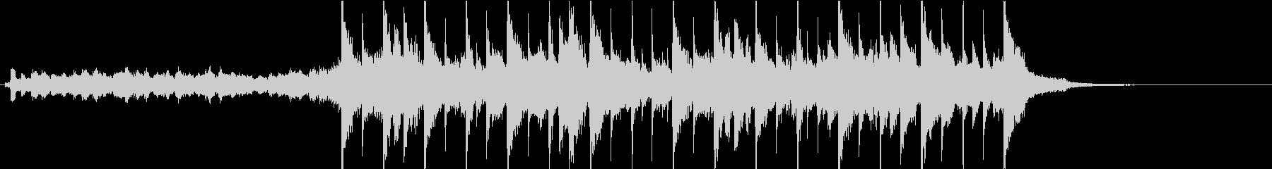弦楽、ピアノ、ベル、チャイム、ベー...の未再生の波形