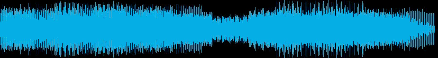 軽快でドライブ感あるクールなミニマルテクの再生済みの波形