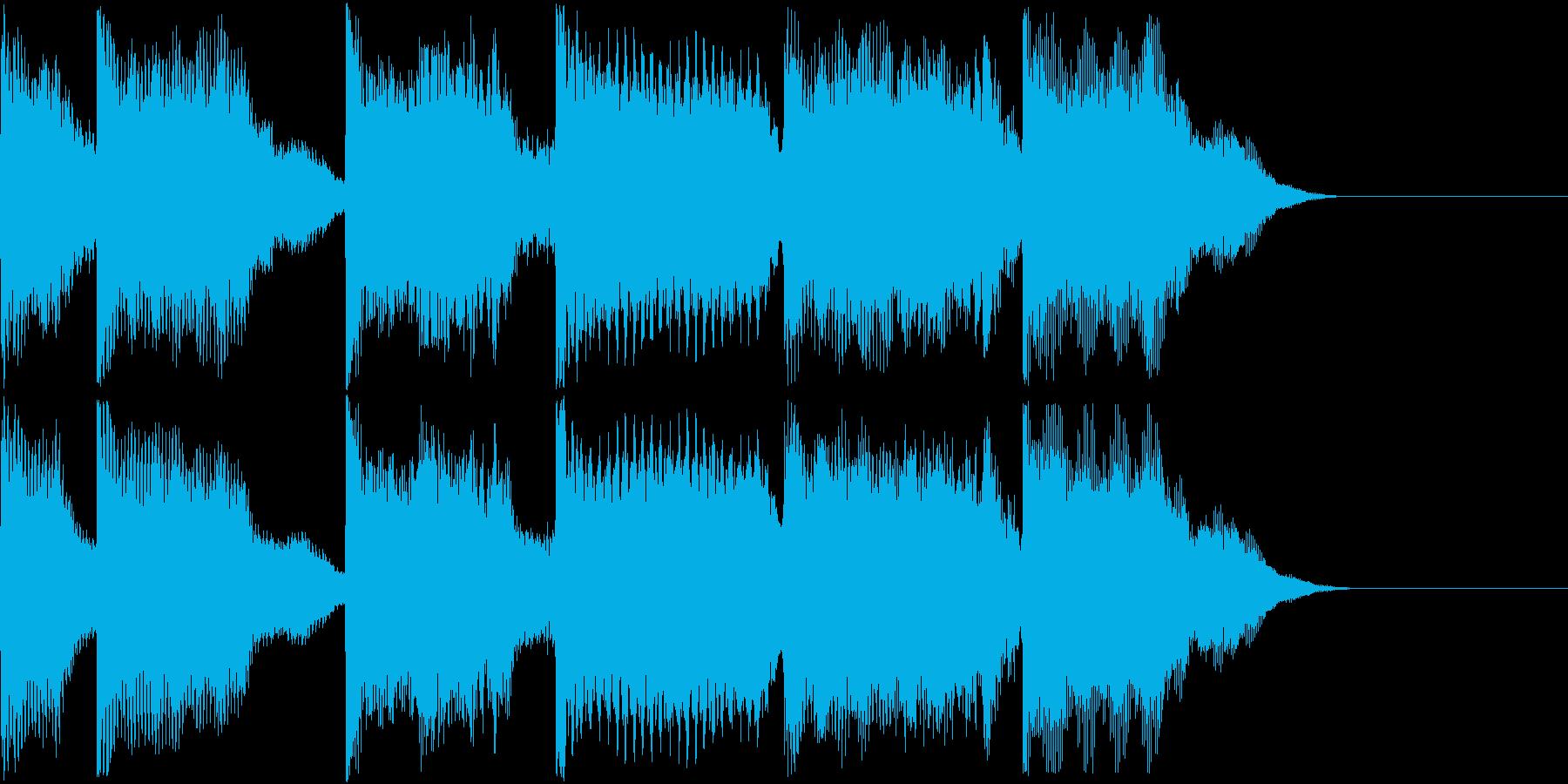 AI メカ/ロボ/マシン動作音 43の再生済みの波形