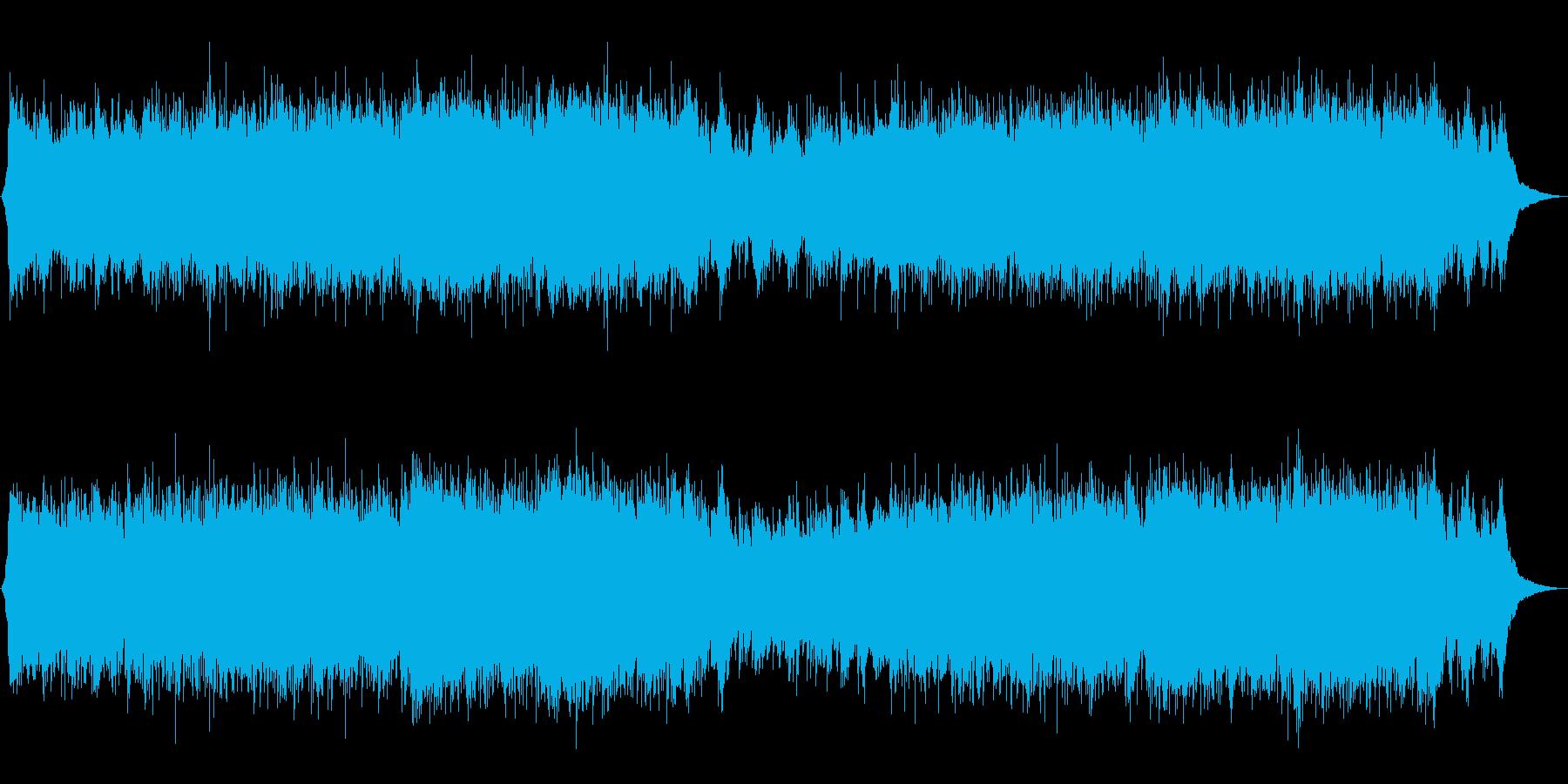 OPなどの始まりに使える美しいバイオリンの再生済みの波形