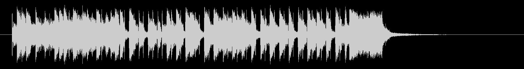 夏をイメージする30秒のスカ・レゲエの未再生の波形