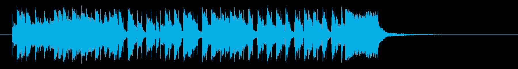 夏をイメージする30秒のスカ・レゲエの再生済みの波形