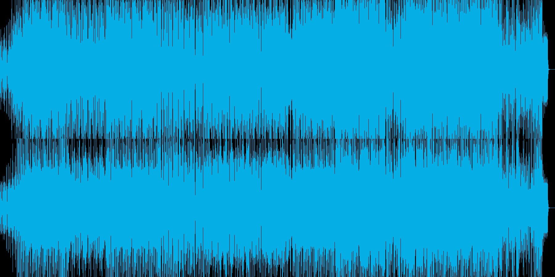 サルサ。ほぼパーカッションとピアノ...の再生済みの波形