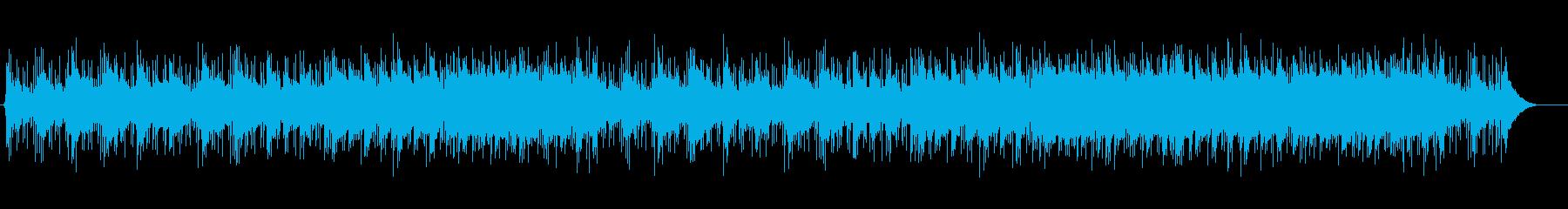 映像作品、店舗BGMに最適なストリングスの再生済みの波形