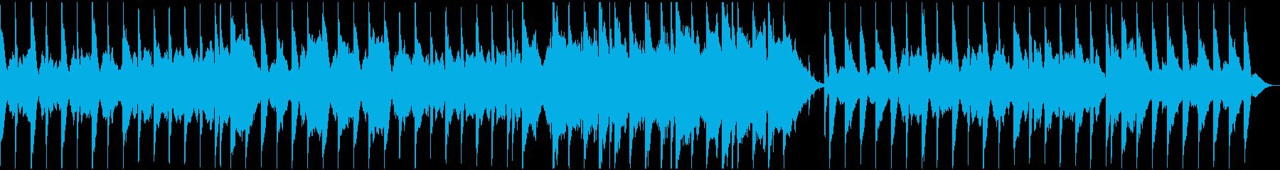 和風まったり感動バラードの再生済みの波形