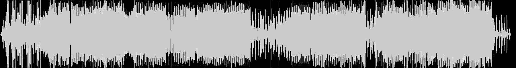 ピアノオクターブの未再生の波形