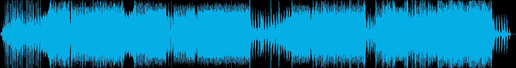 ピアノオクターブの再生済みの波形