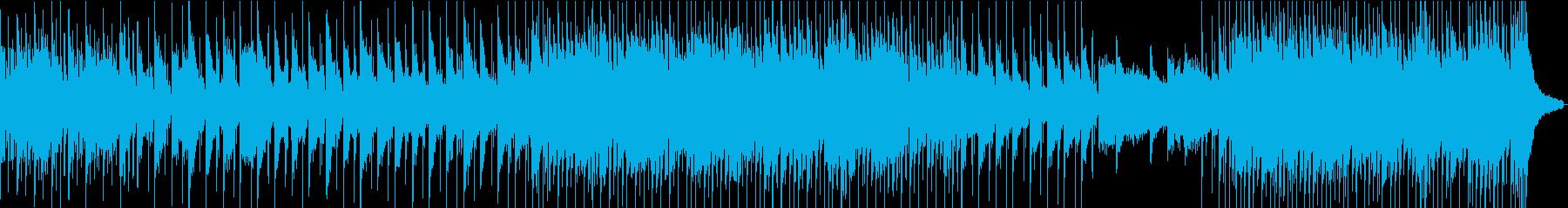 企業VPや映像に前向き・感動ヴァイオリンの再生済みの波形