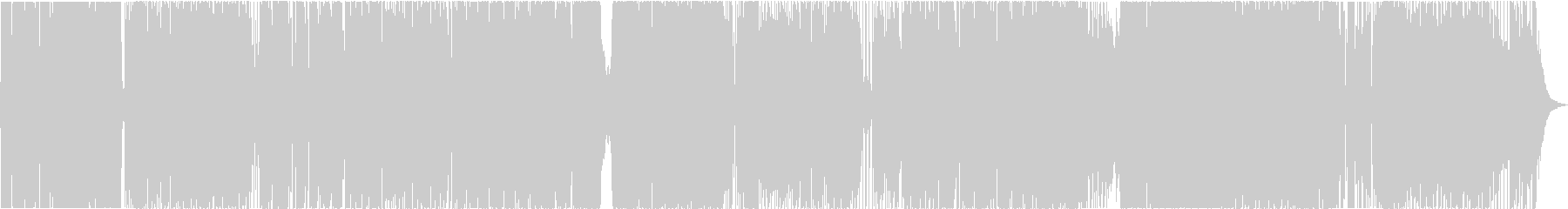 Strings + 4 fashionable 4 on the floor's unreproduced waveform