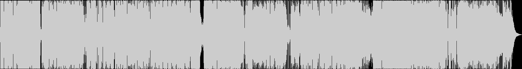 ストリングス+オシャレ4つ打ちの未再生の波形