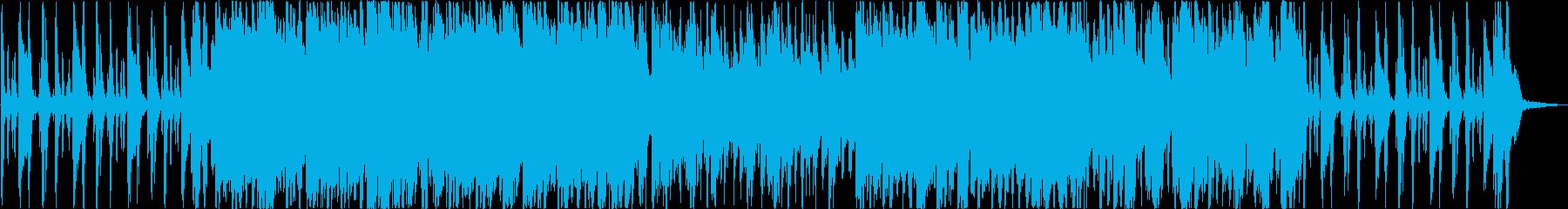 おしゃれで少しコミカルなJazz BGMの再生済みの波形