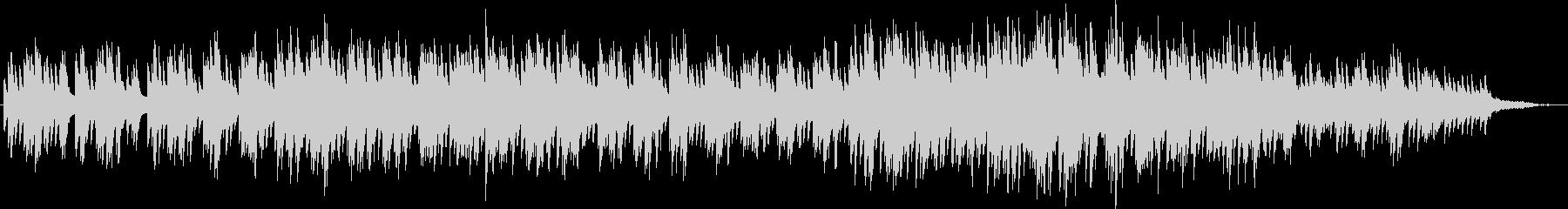 神秘的・サスペンス的なピアノソロの未再生の波形