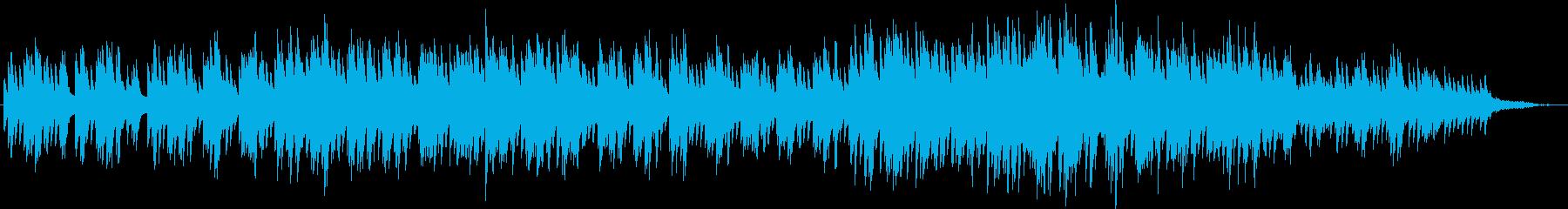 神秘的・サスペンス的なピアノソロの再生済みの波形