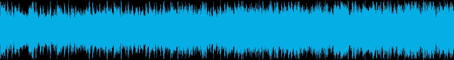 ふわふわ浮いている感・どこか懐かしい音の再生済みの波形