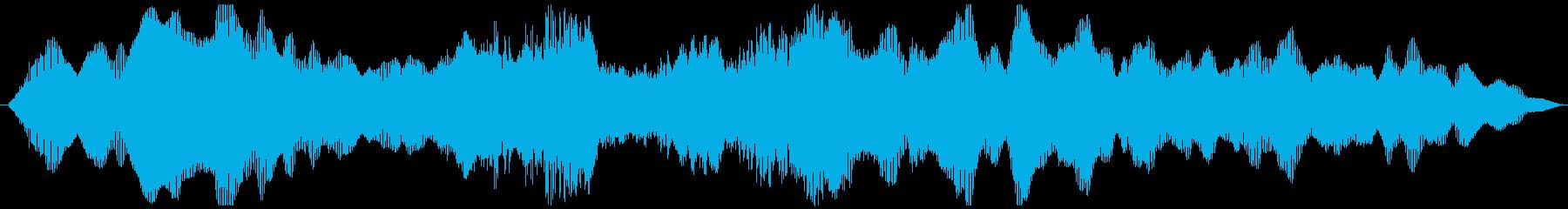 【アイキャッチ/ヴァイオリンBm】の再生済みの波形