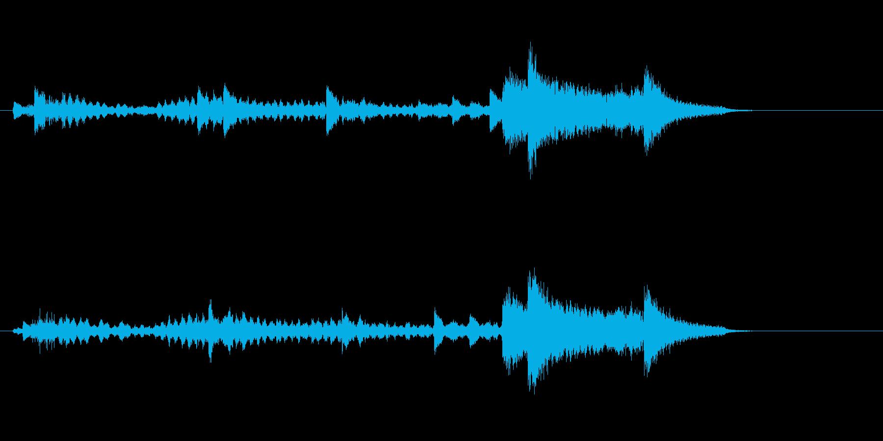 テーマ1:フルミックスの再生済みの波形