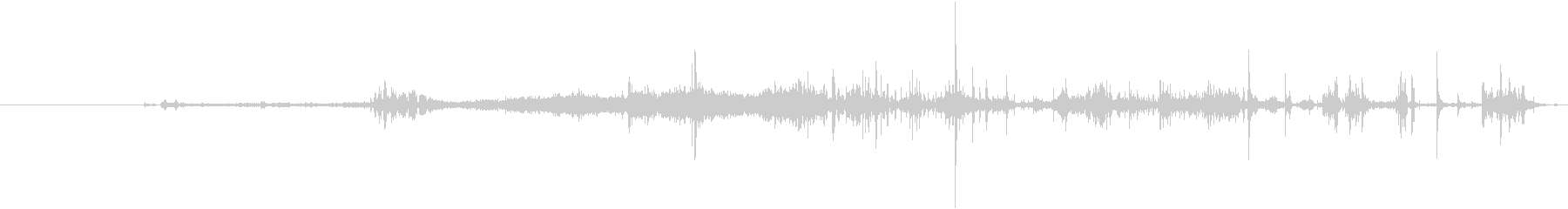 クロスカントリースキー:アプローチ...の未再生の波形