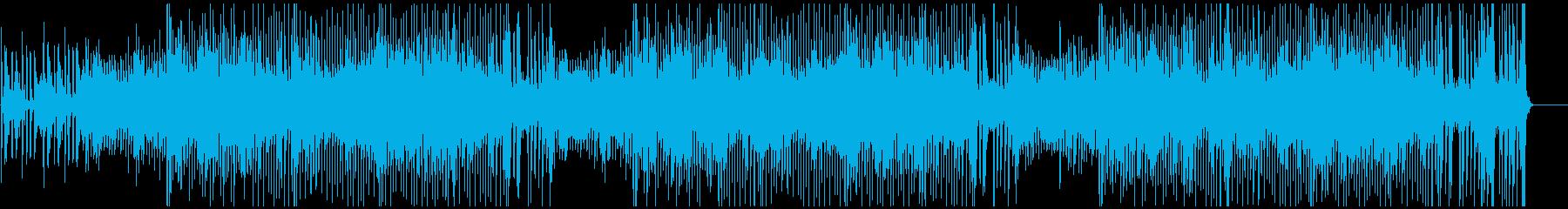 8ビート乗せた明るいインスト曲です。の再生済みの波形