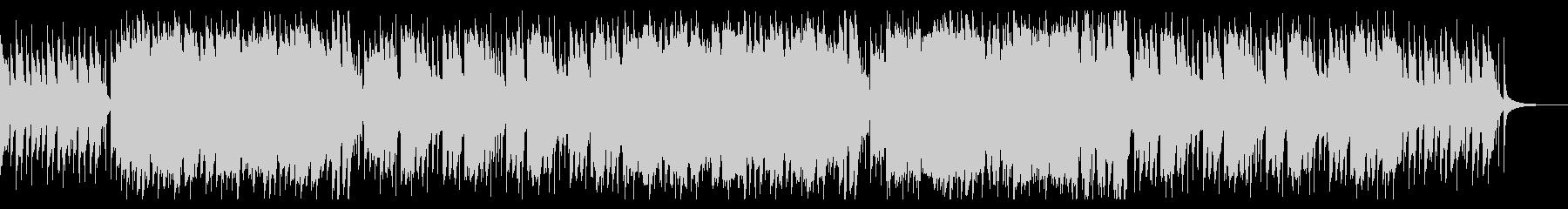 ダークで軽快なワルツのハロウィンBGMの未再生の波形