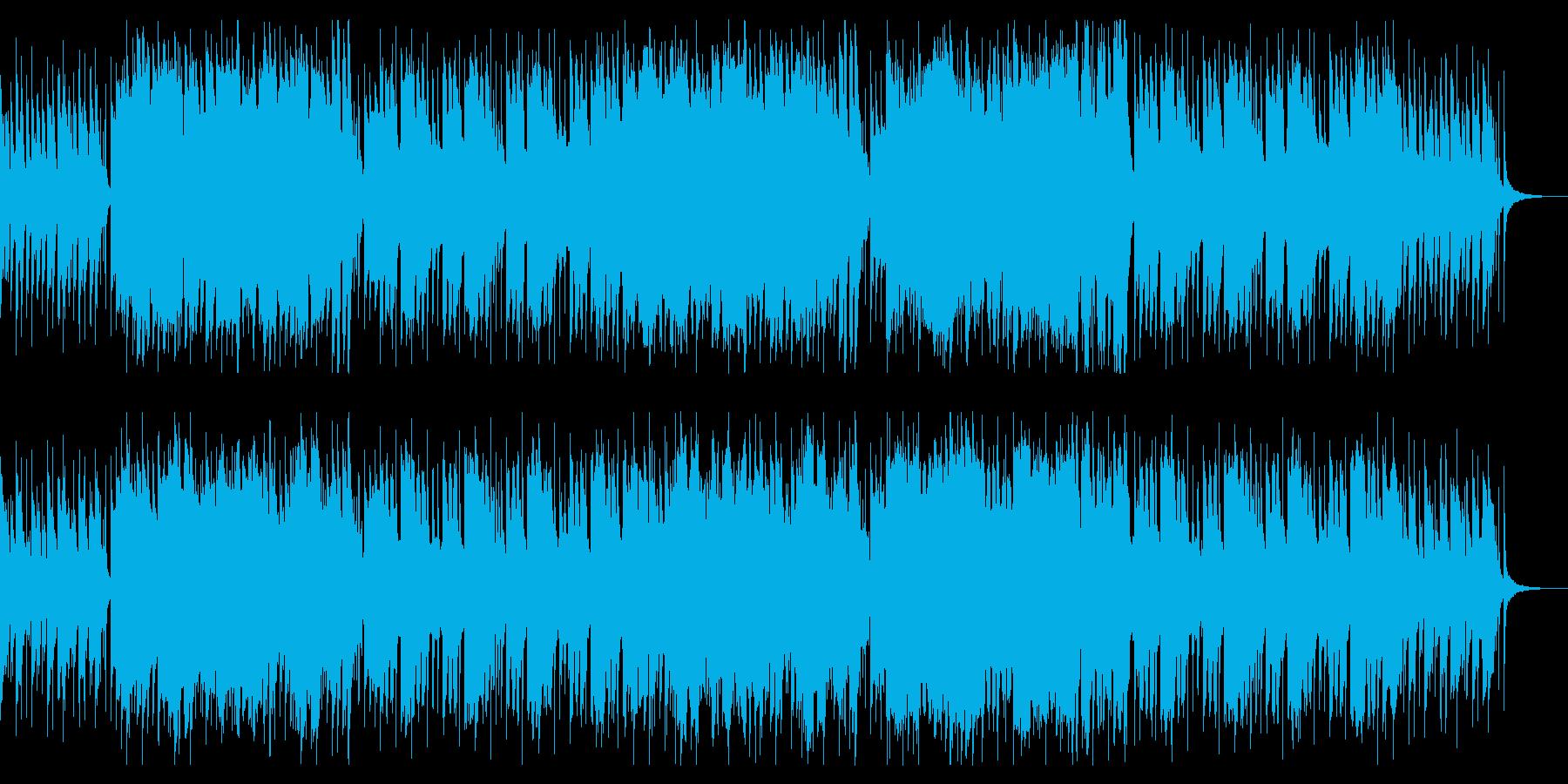 ダークで軽快なワルツのハロウィンBGMの再生済みの波形