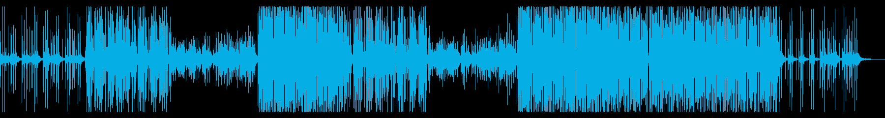 さわやか!男性ボーカルのトロピカルハウスの再生済みの波形