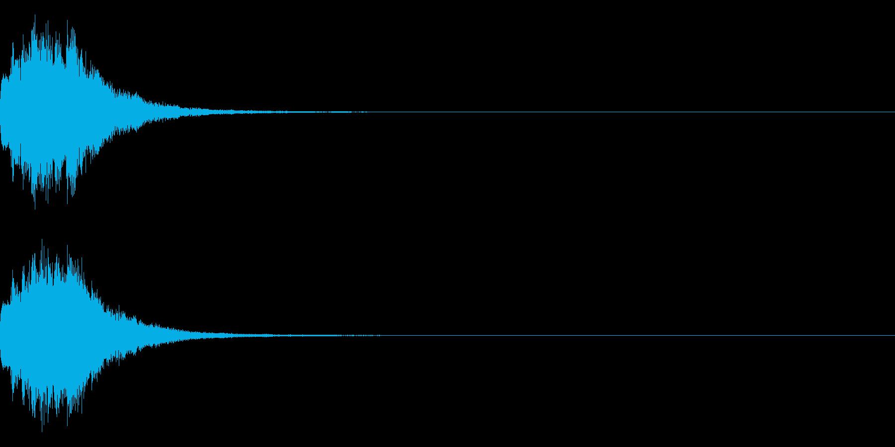アナウンス 案内 実験 チャイム 05の再生済みの波形