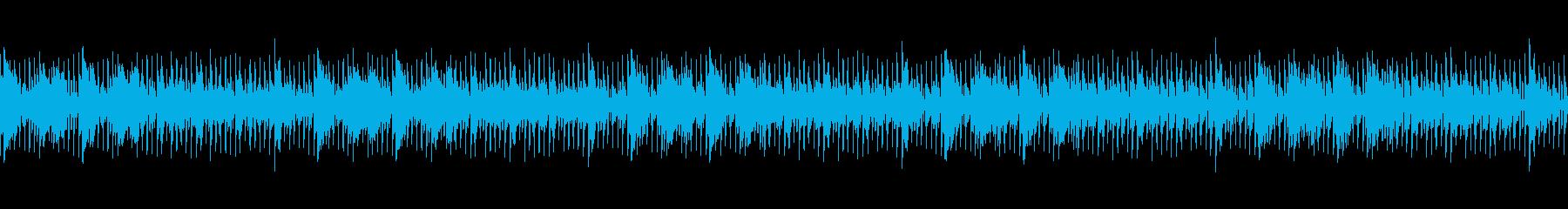 ホラーサスペンス系の怪しくも心地よい楽曲の再生済みの波形