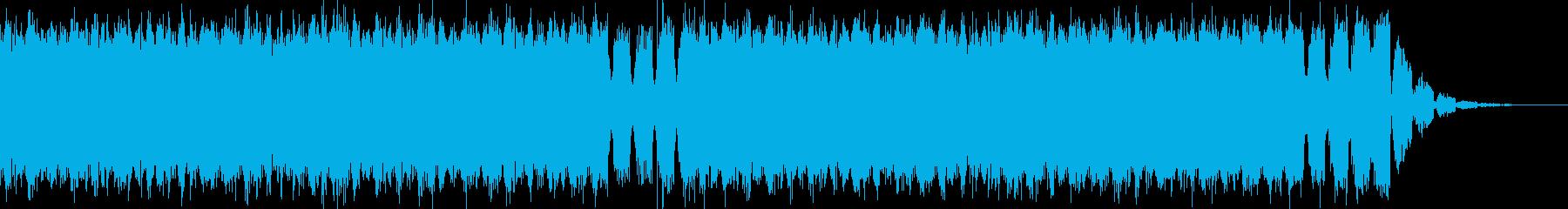 明るくて壮大なEDMドロップ-No.3の再生済みの波形