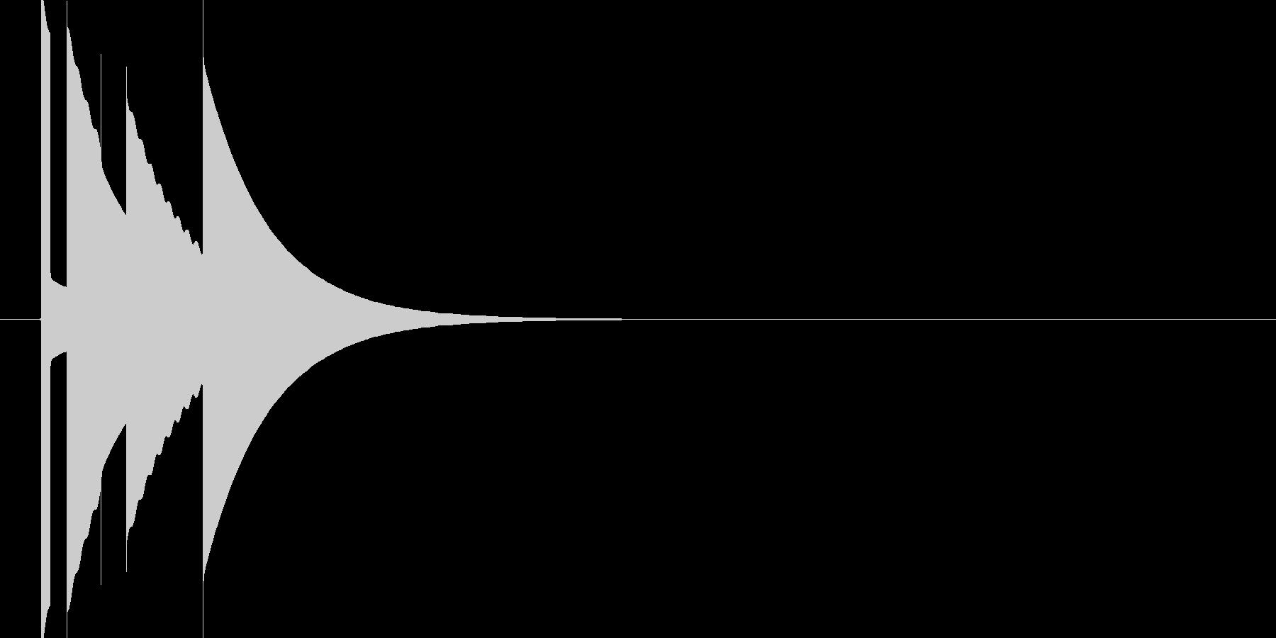 ブチッの未再生の波形